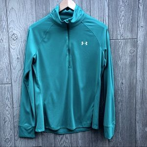 Under Armour• Teal Semi-fitted Pullover
